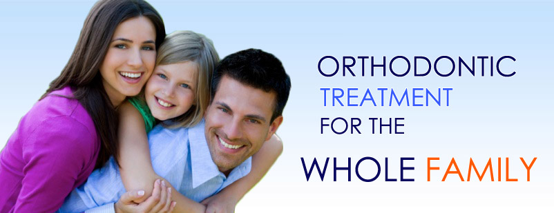 Orthodontic Treatment for the whole family
