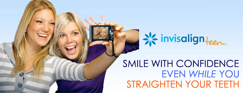 Smile with confidence even while you straighten your teeth.